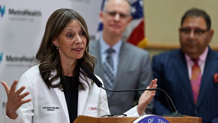 Dr. Amy Acton receives JFK Profile in Courage Award for service during pandemic