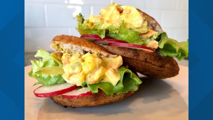 Brittany's Bites: Curried egg salad
