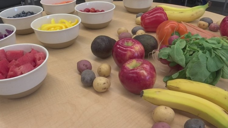 Gearing up for cold and flu season with colorful foods