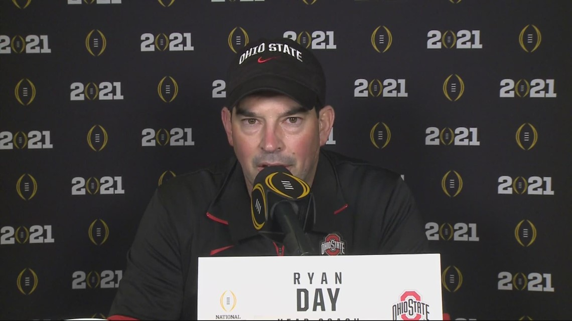 Ryan Day post-game interview | National Championship: Ohio State vs. Alabama