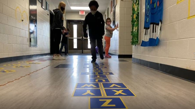 Sensory path energizes students, offers real-world work experience
