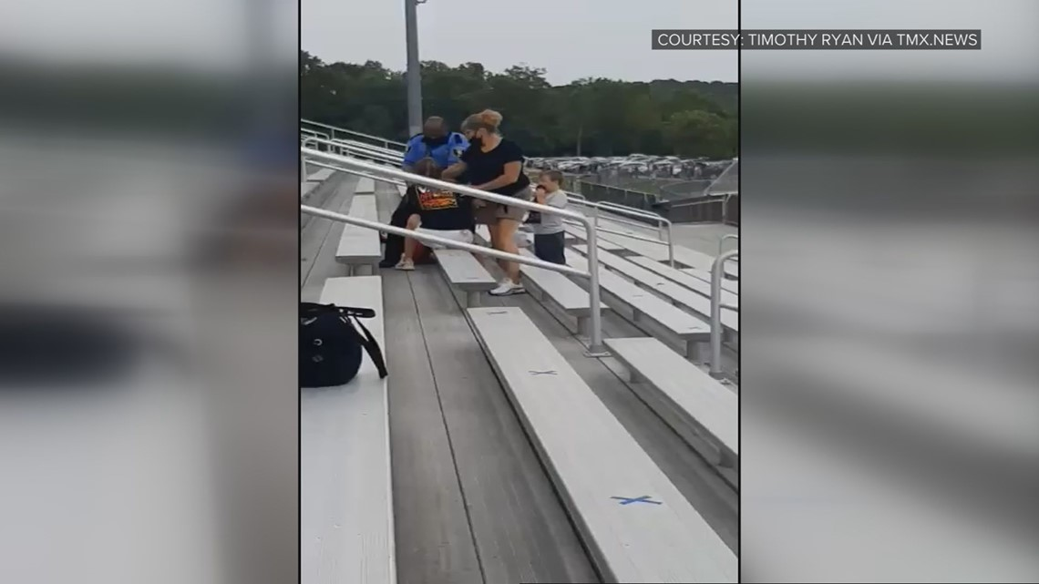 Women charged in incident over mask requirement at Logan football game