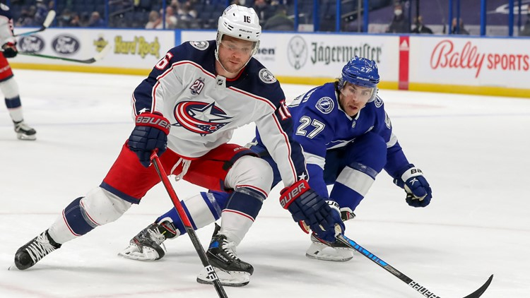 Lightning beat Blue Jackets 4-3 in OT; winless streak reaches 9