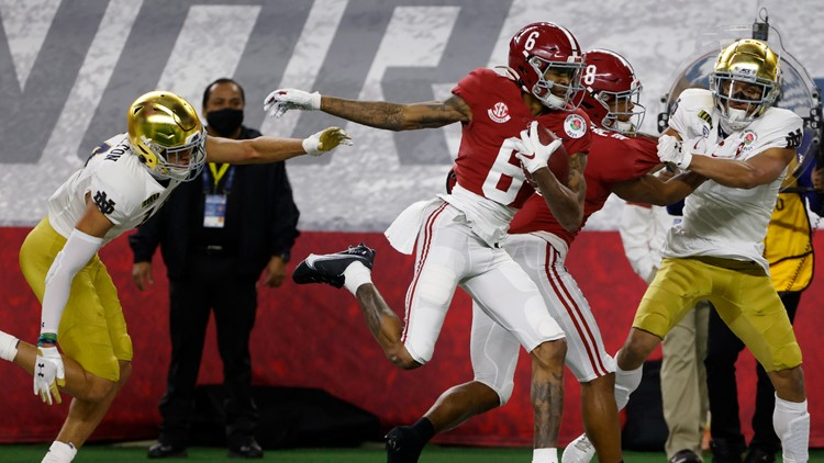 Alabama beats Notre Dame 31-14 in Rose Bowl; advances to CFP title game