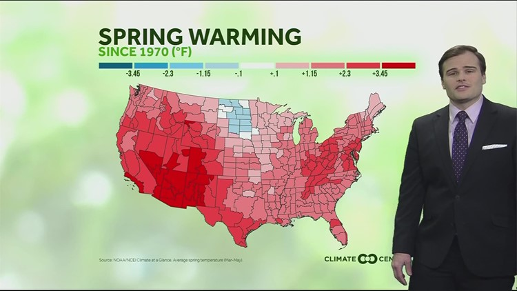 Our Spring months are getting warmer here in central Ohio