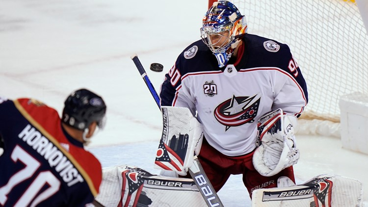 Wennberg scores 3 as Panthers beat Blue Jackets 5-2
