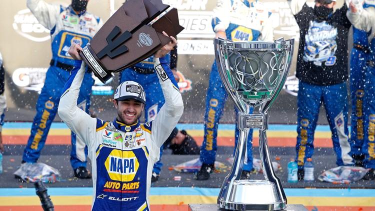 Chase Elliott wins first NASCAR Championship