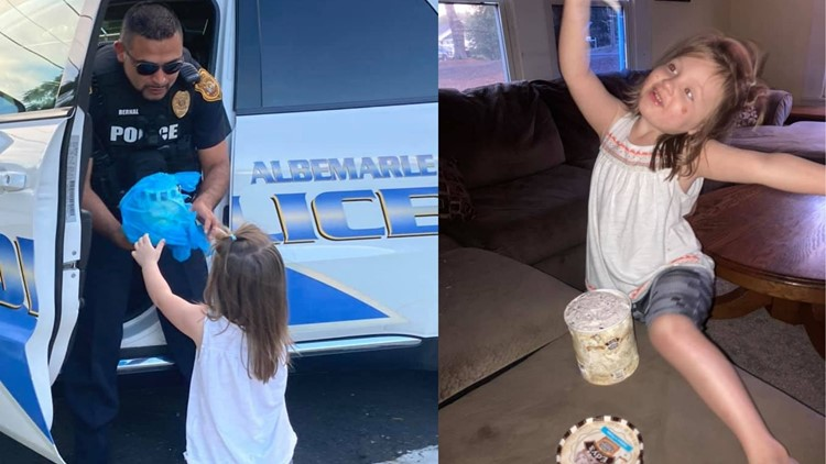 Little girl calls 911 for ice cream looking for her 'pa pa' who died from COVID-19 just months before