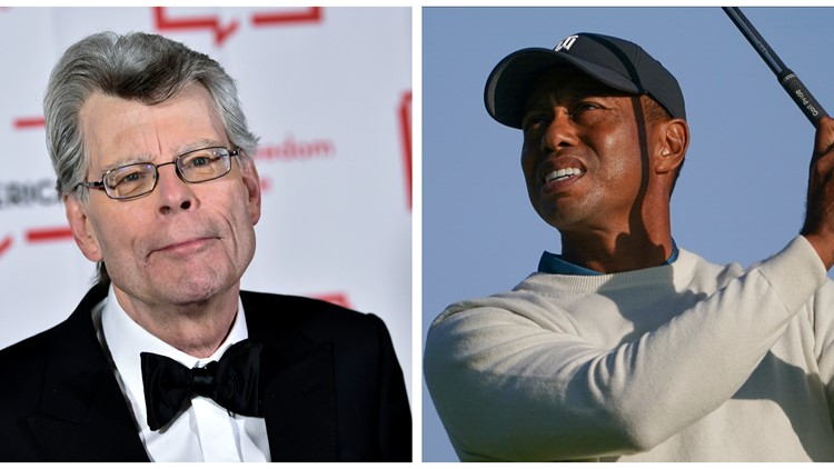 Stephen King recalls serious leg injuries suffered in 1999 crash in tweets about Tiger Woods