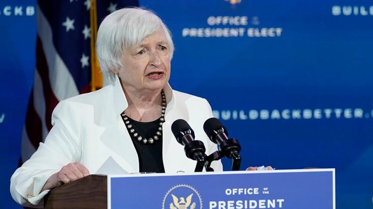 New Treasury Secretary Janet Yellen gets the 'Hamilton' treatment