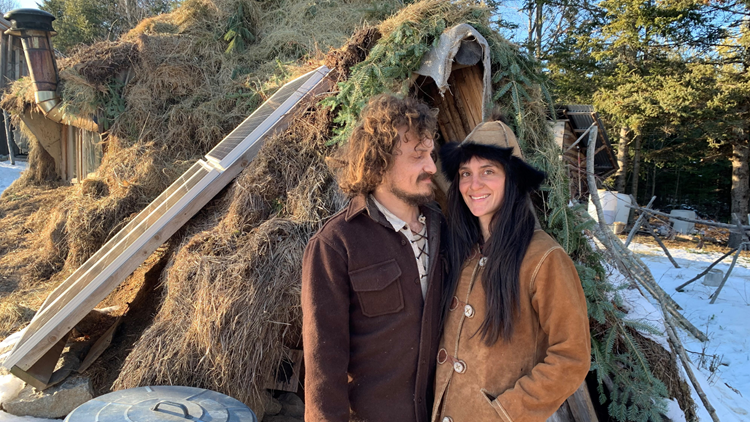 Maine couple lives off the land, teaches others through their primitive-skills school