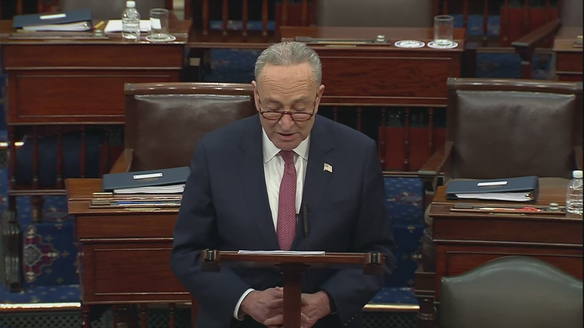 Schumer: Republicans who voted to acquit chose Trump over country