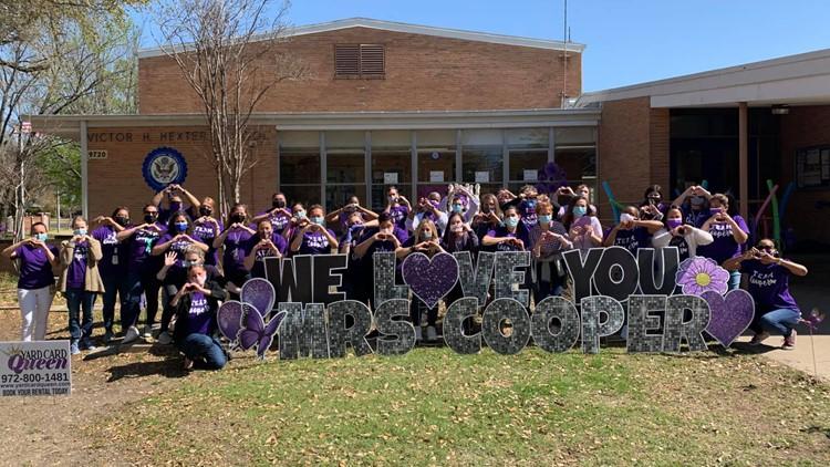 'Strong and fierce': Texas teacher kept teaching through chemo