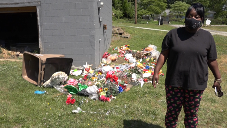 Mother finds son's grave decorations in cemetery trash can: 'How would you feel if it were your child?'