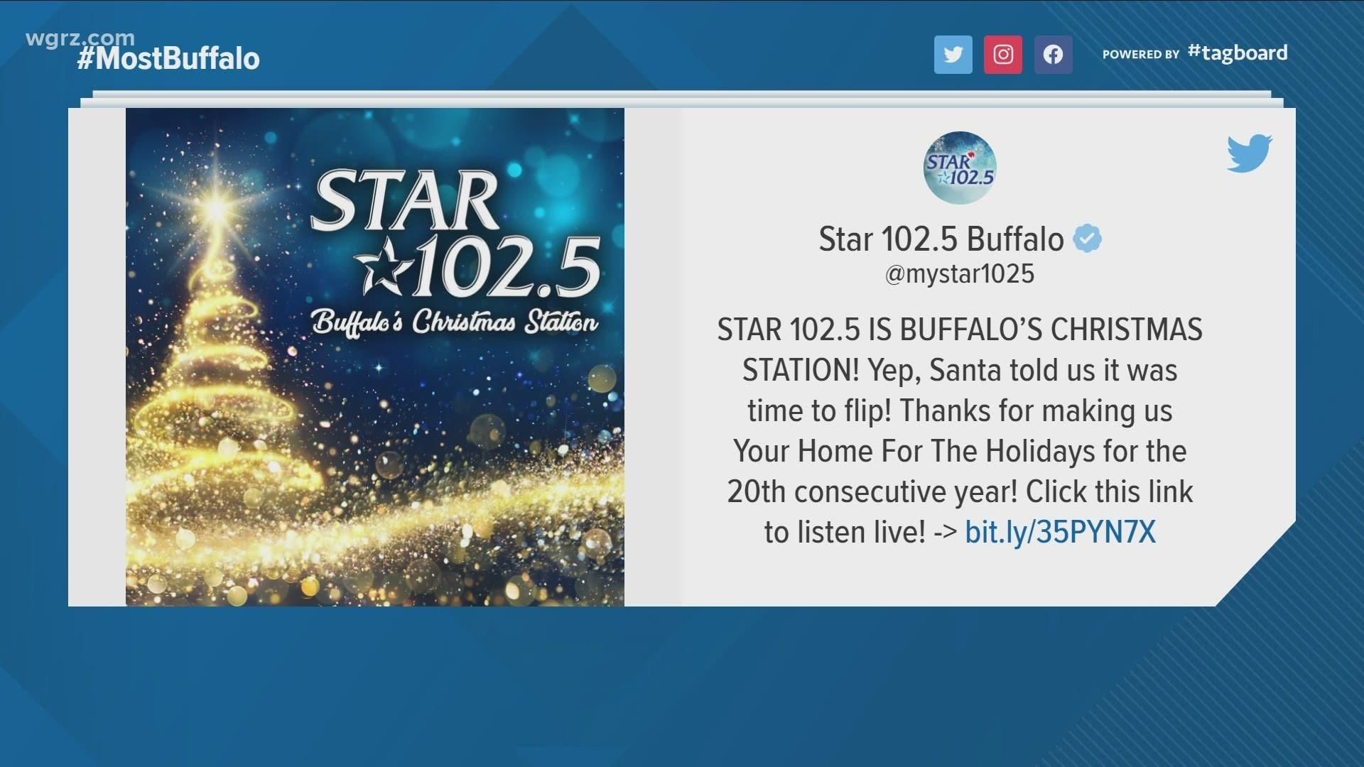 Christmas Radio Stations Indianapolis 2020 Star 102.5 now playing Christmas music   wthr.com