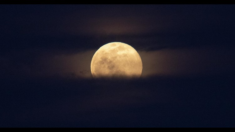 'Strawberry moon' Thursday is last supermoon of the year -- sort of