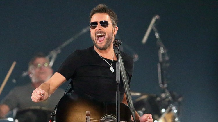 Eric Church coming to Des Moines in February 2022