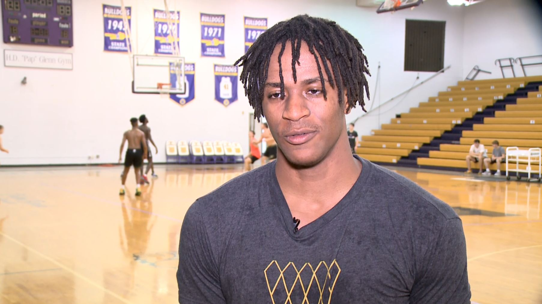 Recruiting interest heating up for Male High School basketball star
