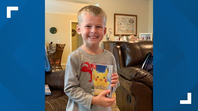 Christmas gift leaves Kentucky kindergartener dancing