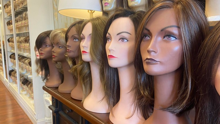 Louisville wig shop honors cancer patients, survivors with October giveaways