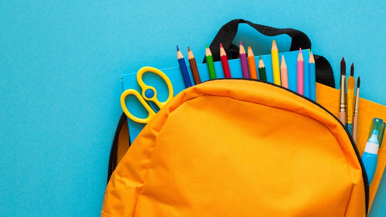 Students can get a free backpack Sunday in Olive Branch