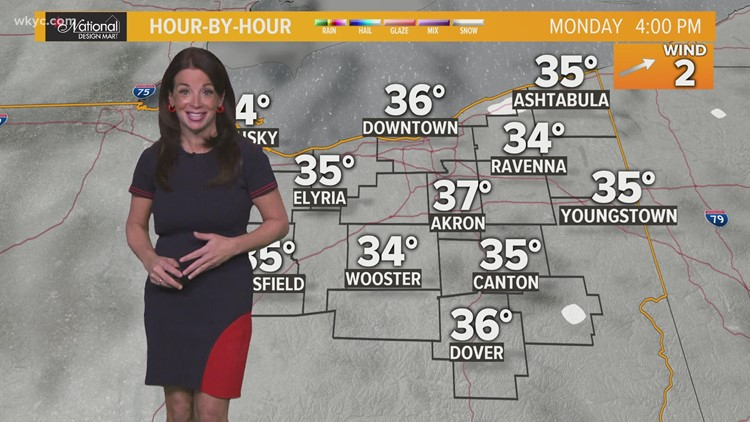 FORECAST | Calm, cold week ahead