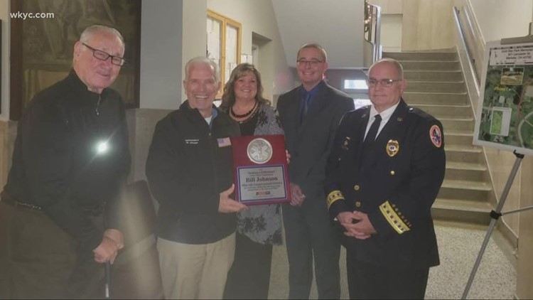 A special holiday gift for a 'Great Neighbor' and dedicated EMT