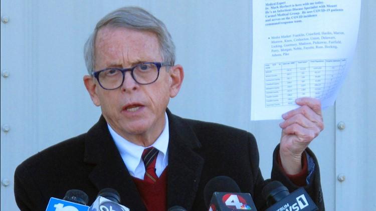 Governor DeWine explains vaccine holdup in Ohio