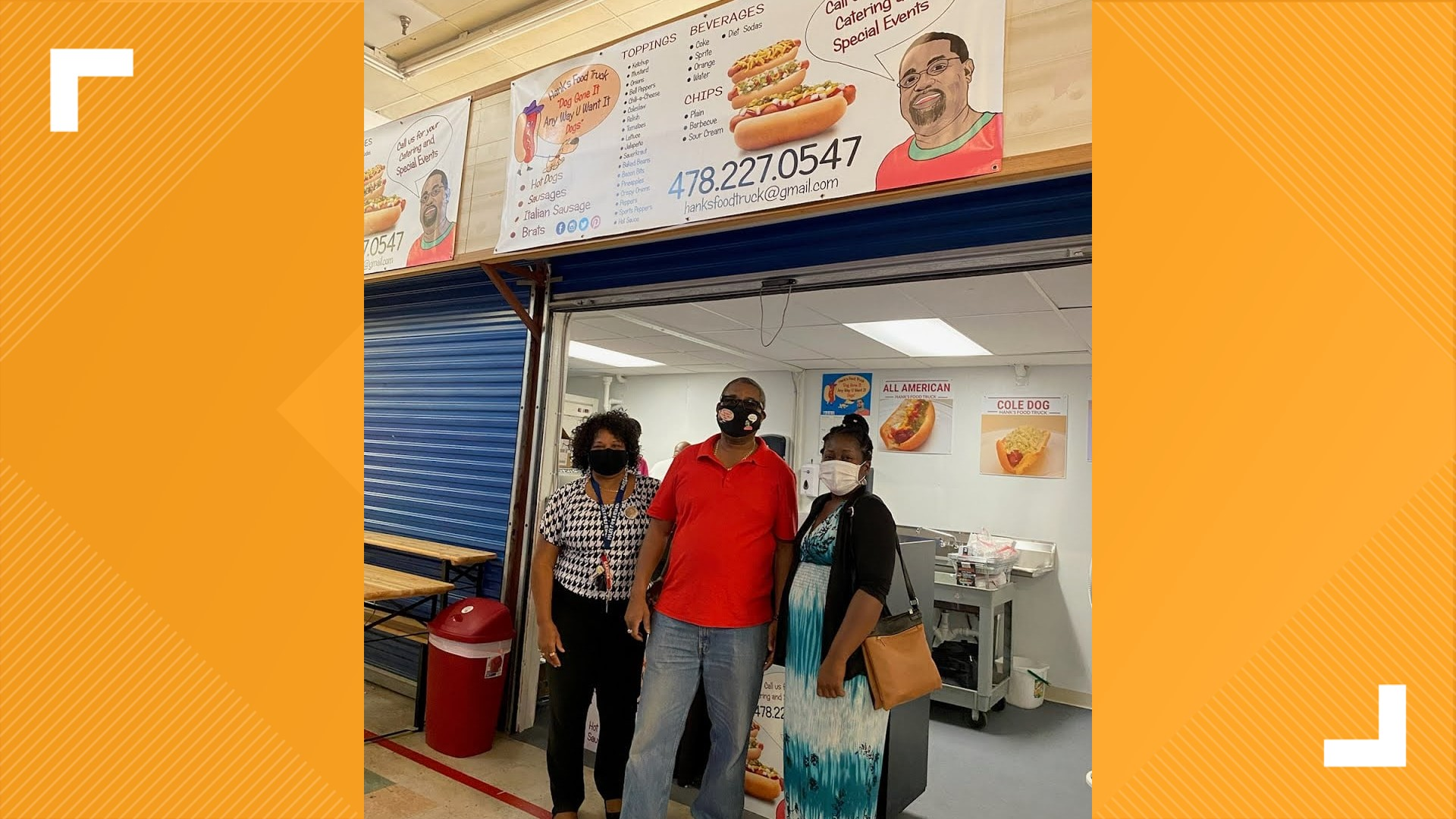 Hank S Food Truck Opens At Macon Flea Market 10tv Com