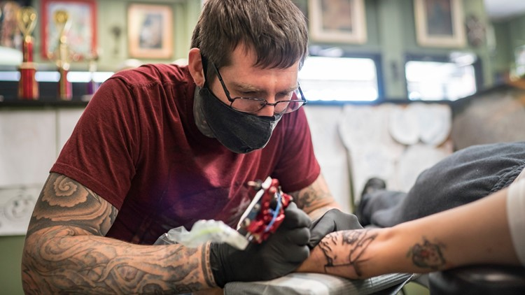 'It doesn't define you': Tattoos go from taboo to widely accepted