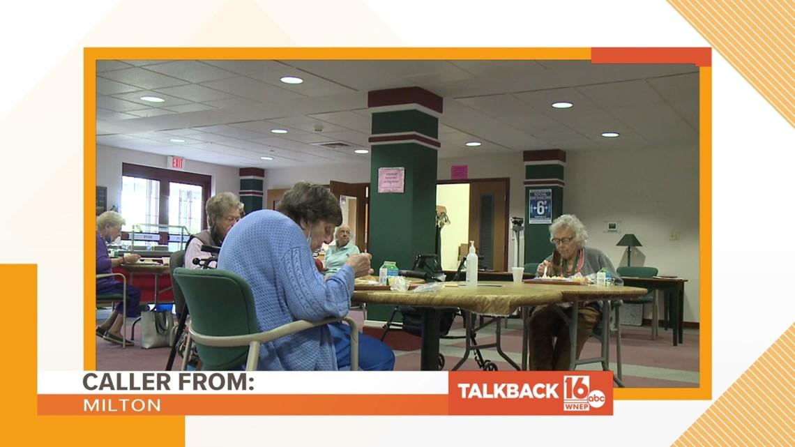 Talkback 16: Polling place inside senior housing complex