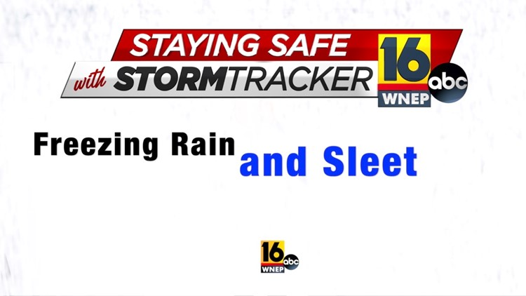 Staying Safe with Stormtracker 16: John Hickey slips his way through freezing rain