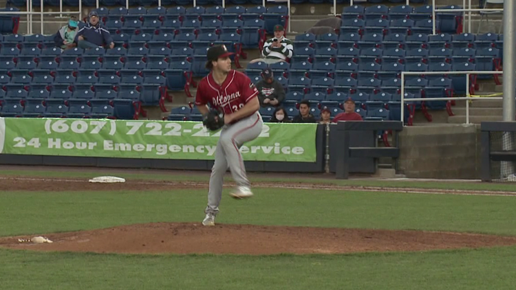 Former Valley View pitcher Max Kranick allowed four first inning runs, but got the win Altoona beat Binghamton 9-7 in 'AA' ball.