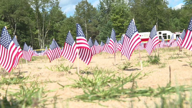 Flags in Susquehanna County honor 9/11 victims