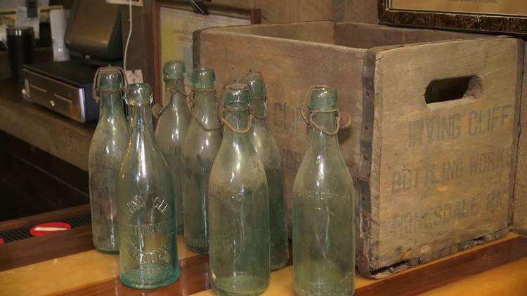 Bottles returned for deposit after 108 years