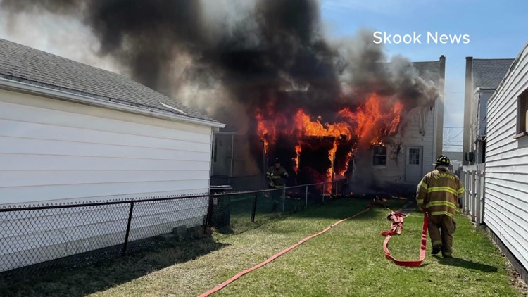 Fire damages home in Schuylkill County