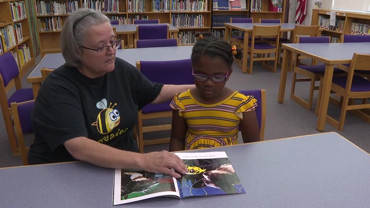 Sharing the love of reading for school kids in Bloomsburg