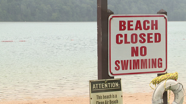 Remnants of Ida affect Labor Day plans at Beltzville State Park