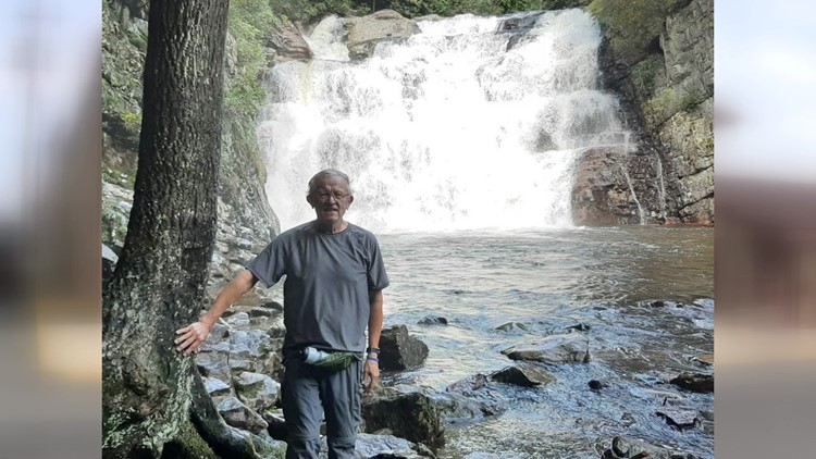 70-year-old Walter Lutz hikes 1,100 miles on Appalachian Trail