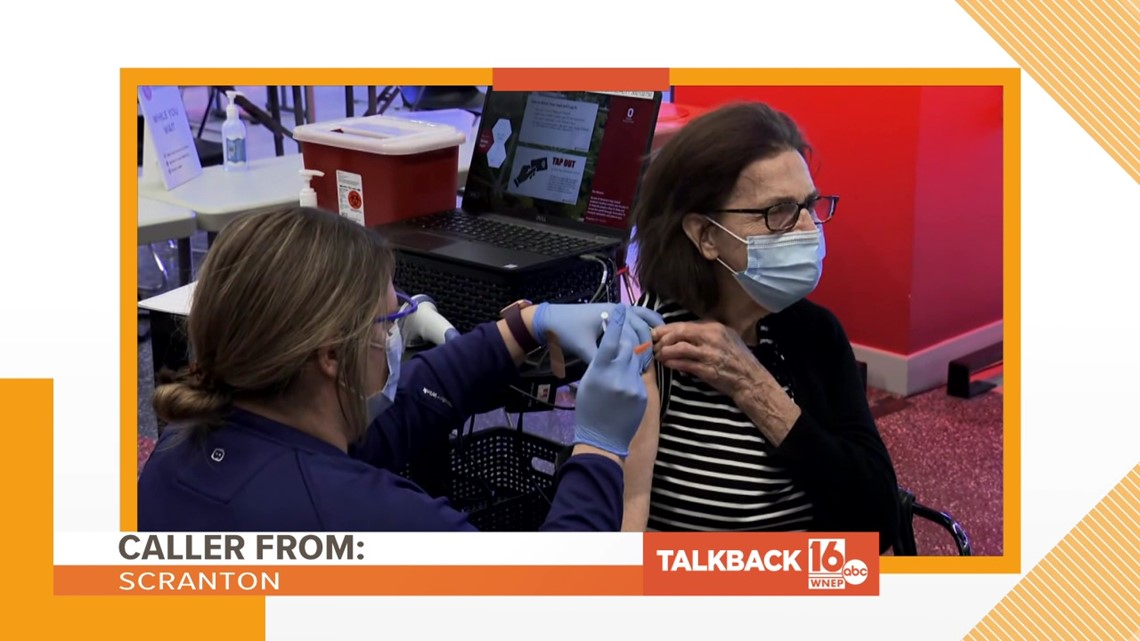 Talkback 16: Teachers getting Johnson and Johnson vaccine