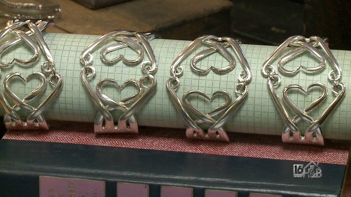Hand-Crafted Heart-Shaped Bracelet