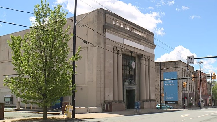 Old bank on Providence Square now home to Black Scranton Project