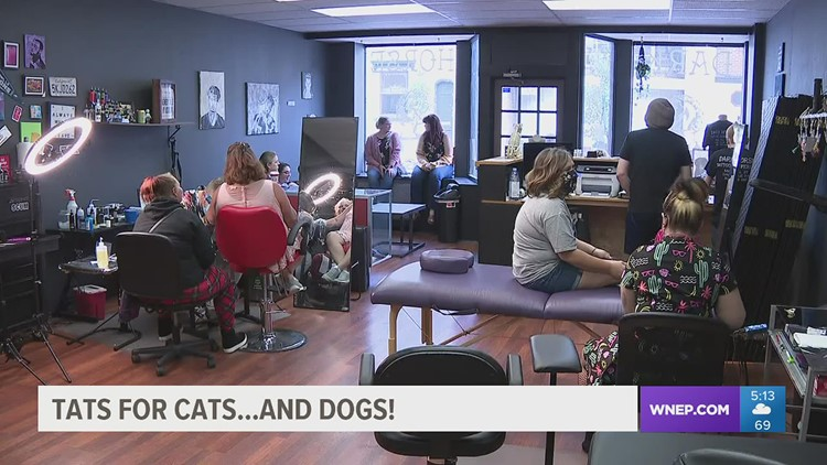 Ink for Animals: Tattoo artists raising cash for animal rescue