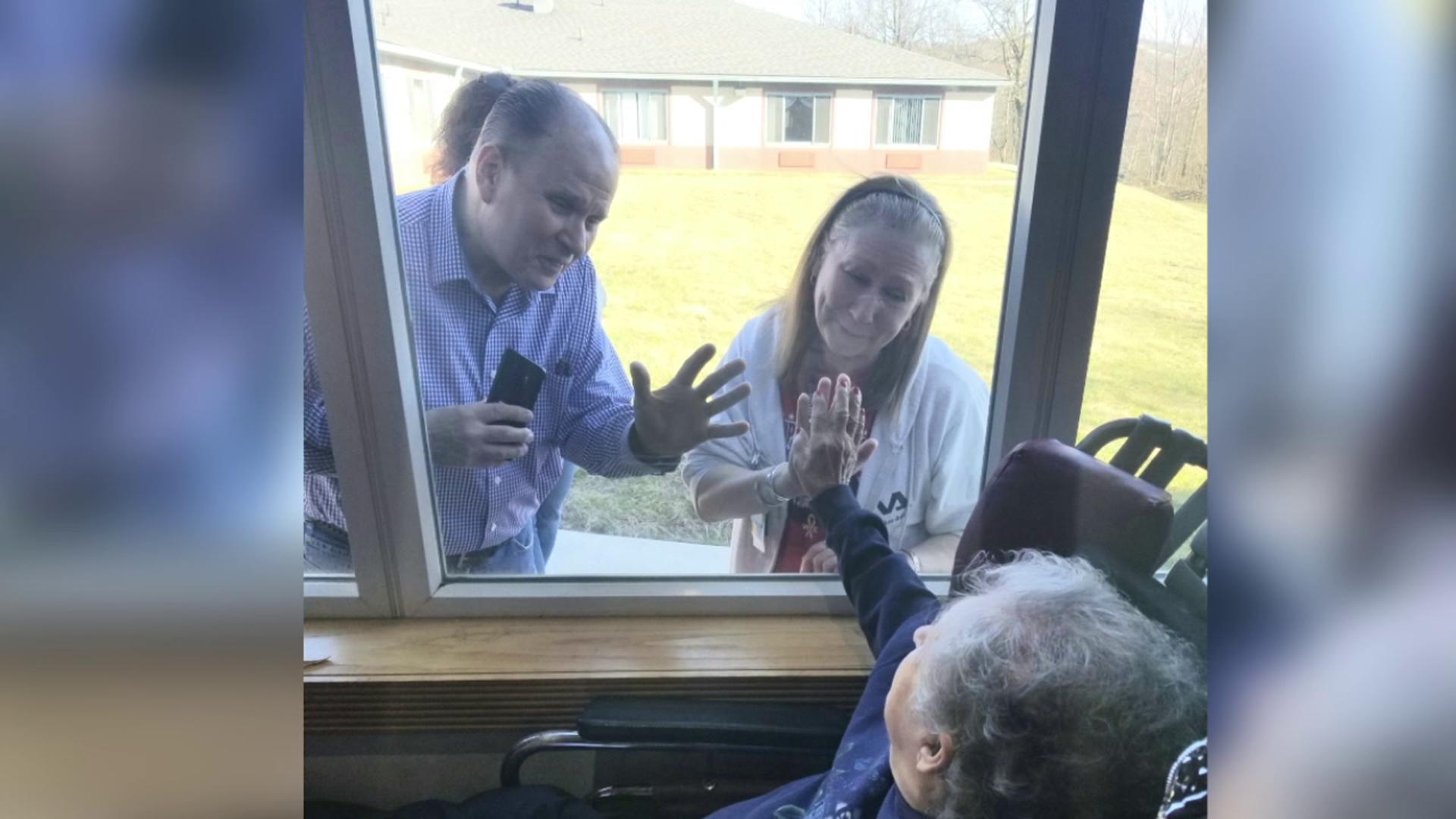 Birthday Wishes Through A Window Wnep Com