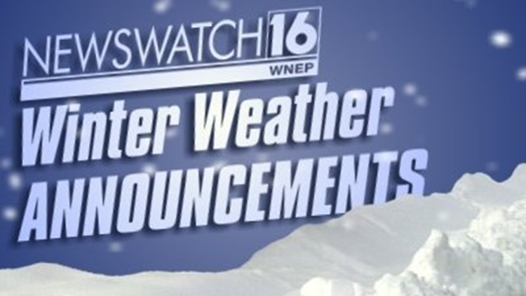Community Weather Announcements
