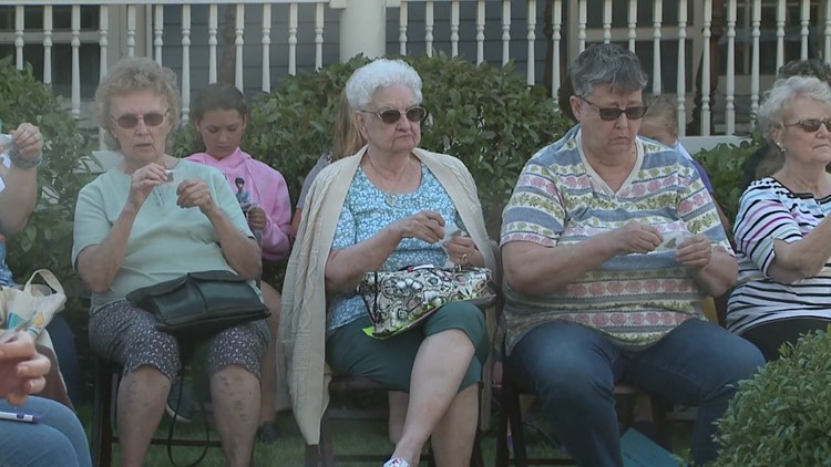 Butterfly release brings mourners together after a devastating year