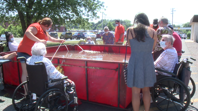 Fishing competition held for nursing home residents in Snyder County