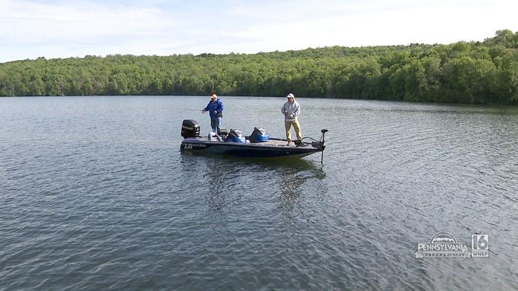 Hunters Lake Bass Fishing