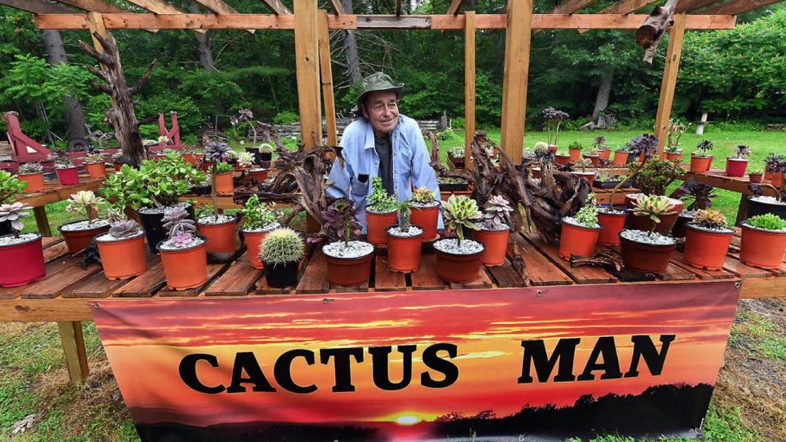 On the Pennsylvania Road: The Cactus Man