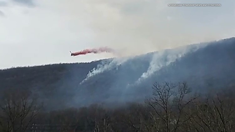 After battling flames on a mountain, crews warn of brush fire season